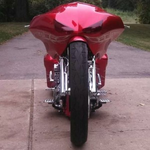 Ballistic Cycles Taylor Made Fairing