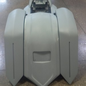 Ballistic Rear Fender 2009 & Up