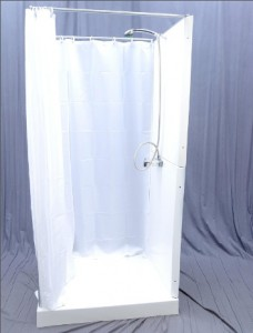 INDOOR OFFICE SHOWER STALL