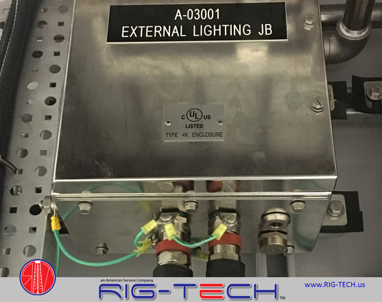 Electrical integration by Rig-Tech Electricians