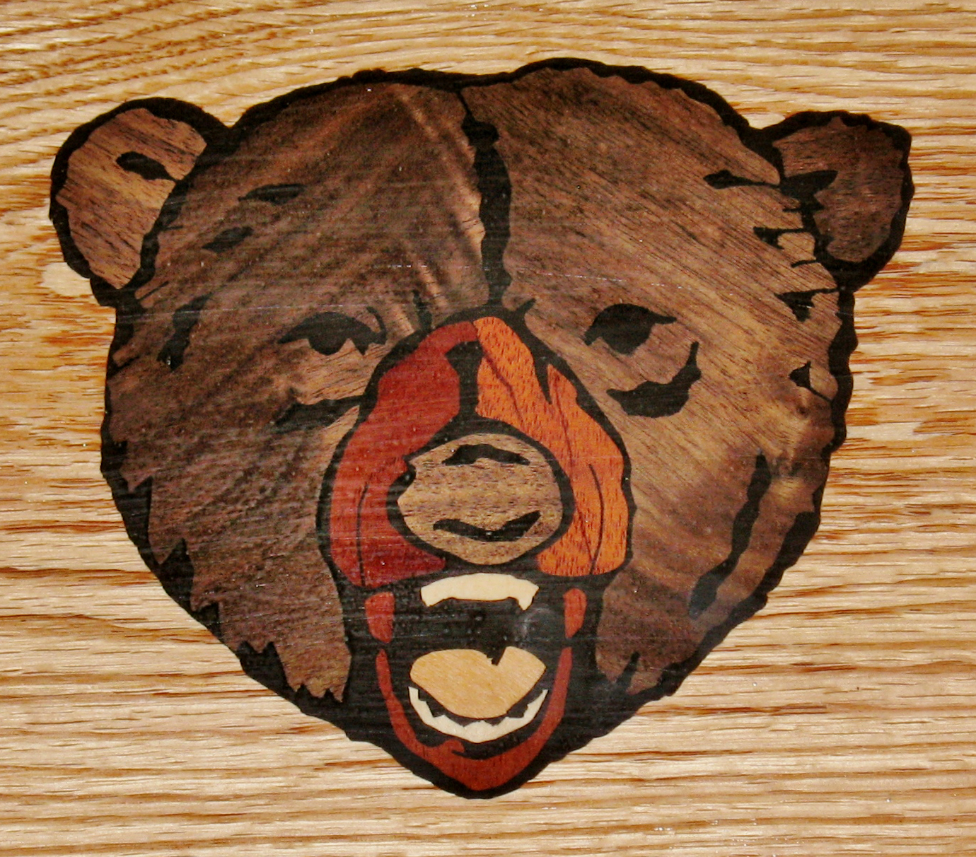 Grizzly Bear Inlay