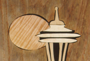 Space Needle Inlay