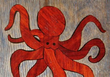 Giant Octopus Inlay