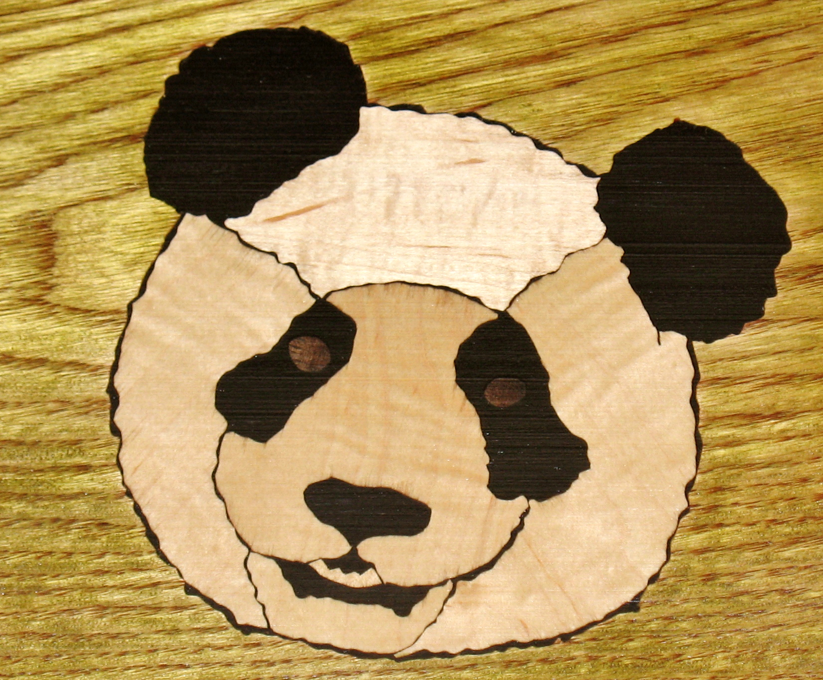 Giant Panda Inlay