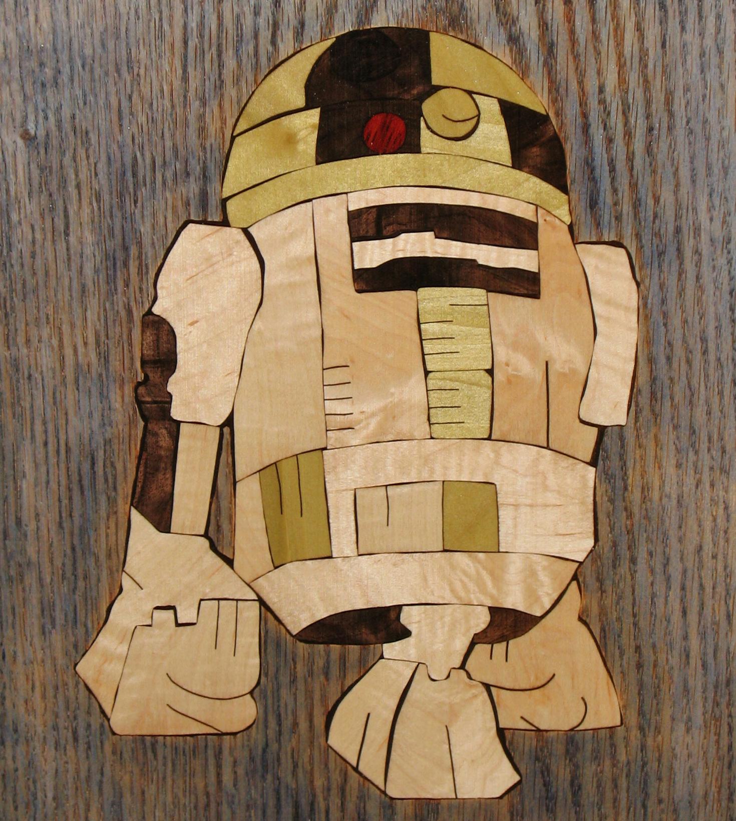 R2-D2 Inlay