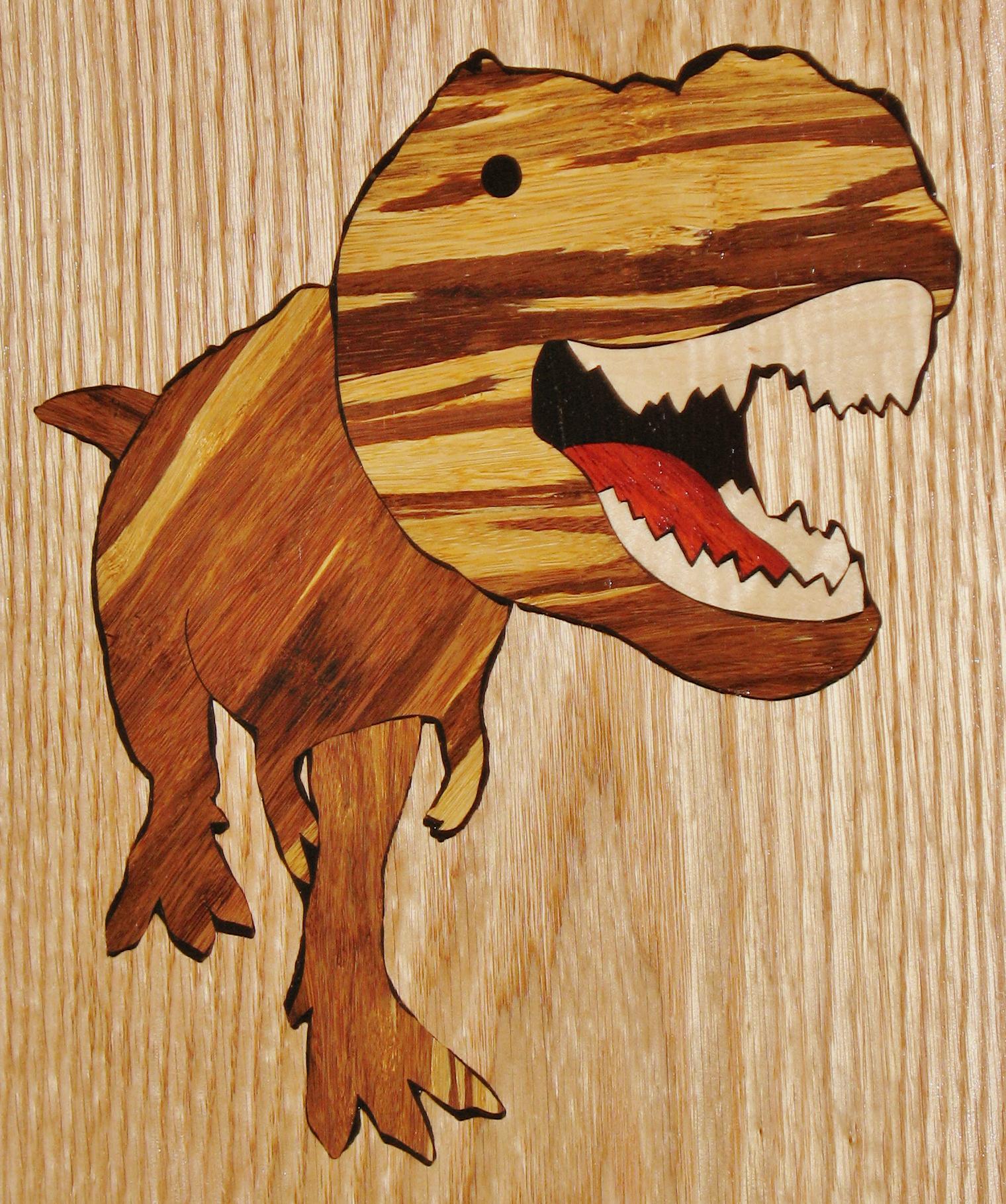 Tyrannosaurus Inlay