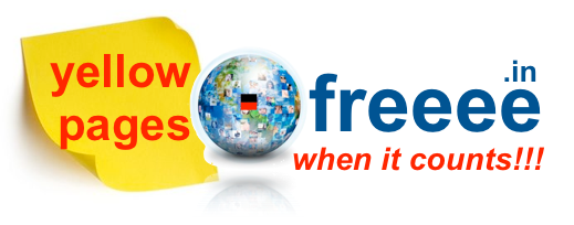 Browse Yellow Pages at freeee.in  |  when it really counts