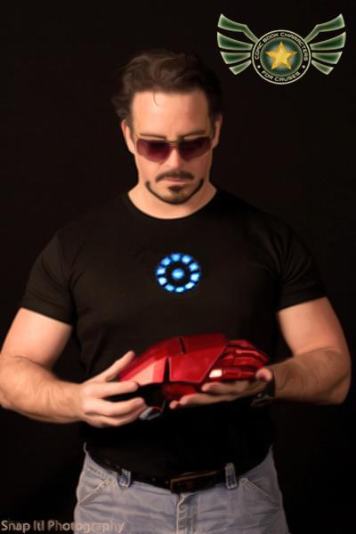 Jason Halverson as Tony Stark