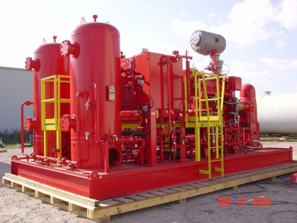 fire water skid