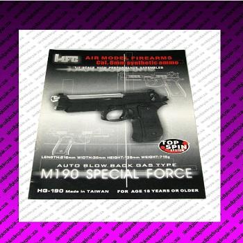 hfc m190 airsoft pistol manual