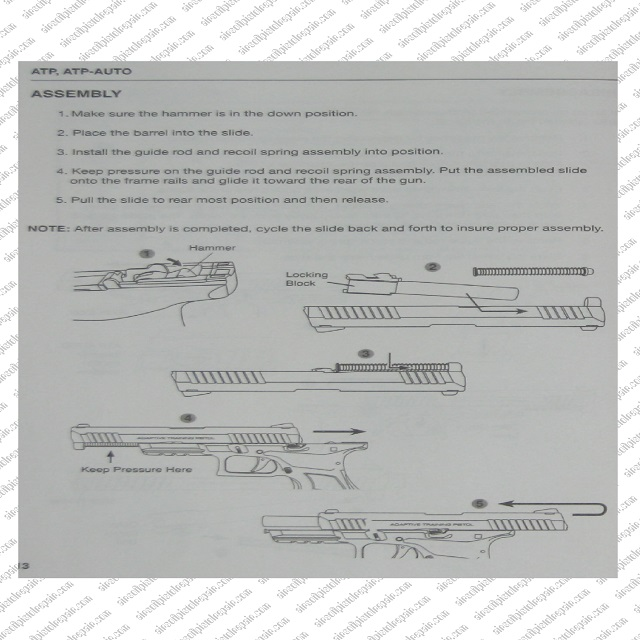 ATP assembly tips