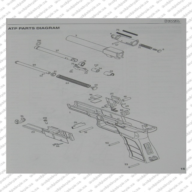 ATP Parts Diagrams 15