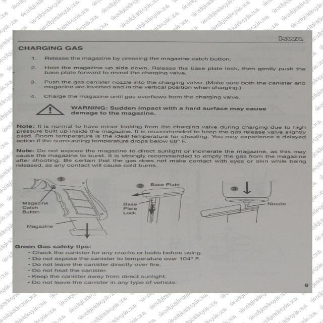 ATP Pistol Gas Charging