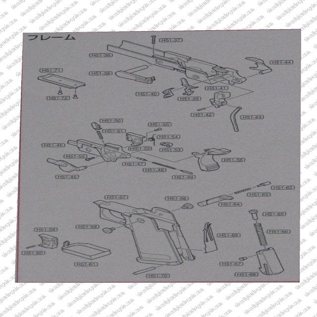 airsoft pistol hard nd parts manual 13