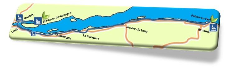 Chemin des Navigateurs - Carte