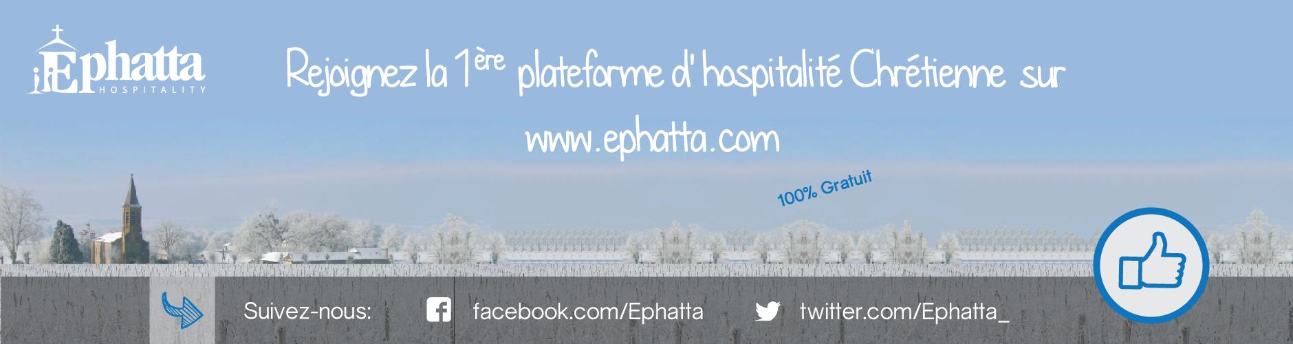 Réseau Ephatta - hébergement