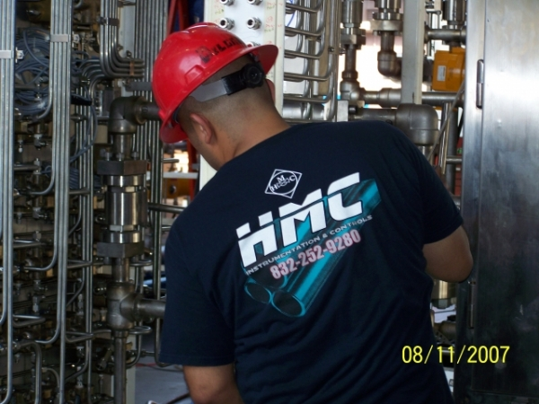 HMC instrument fitters hydraulic equipment