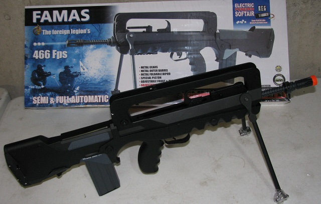 famas airsoft rifle repaired