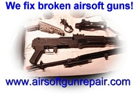 airsoft gun repair parts catalogs