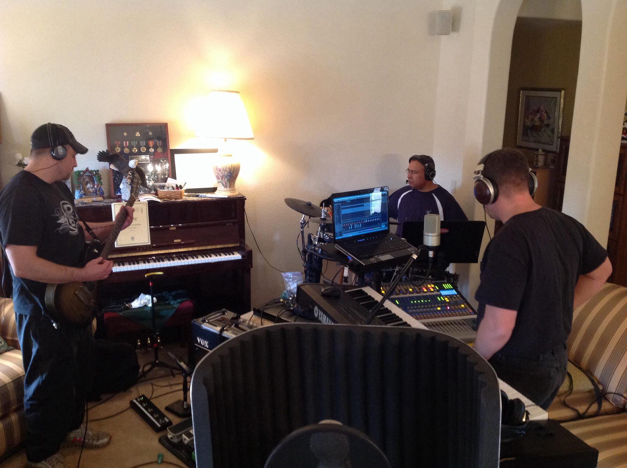 Recording RuwA on location in Sierra Vista AZ