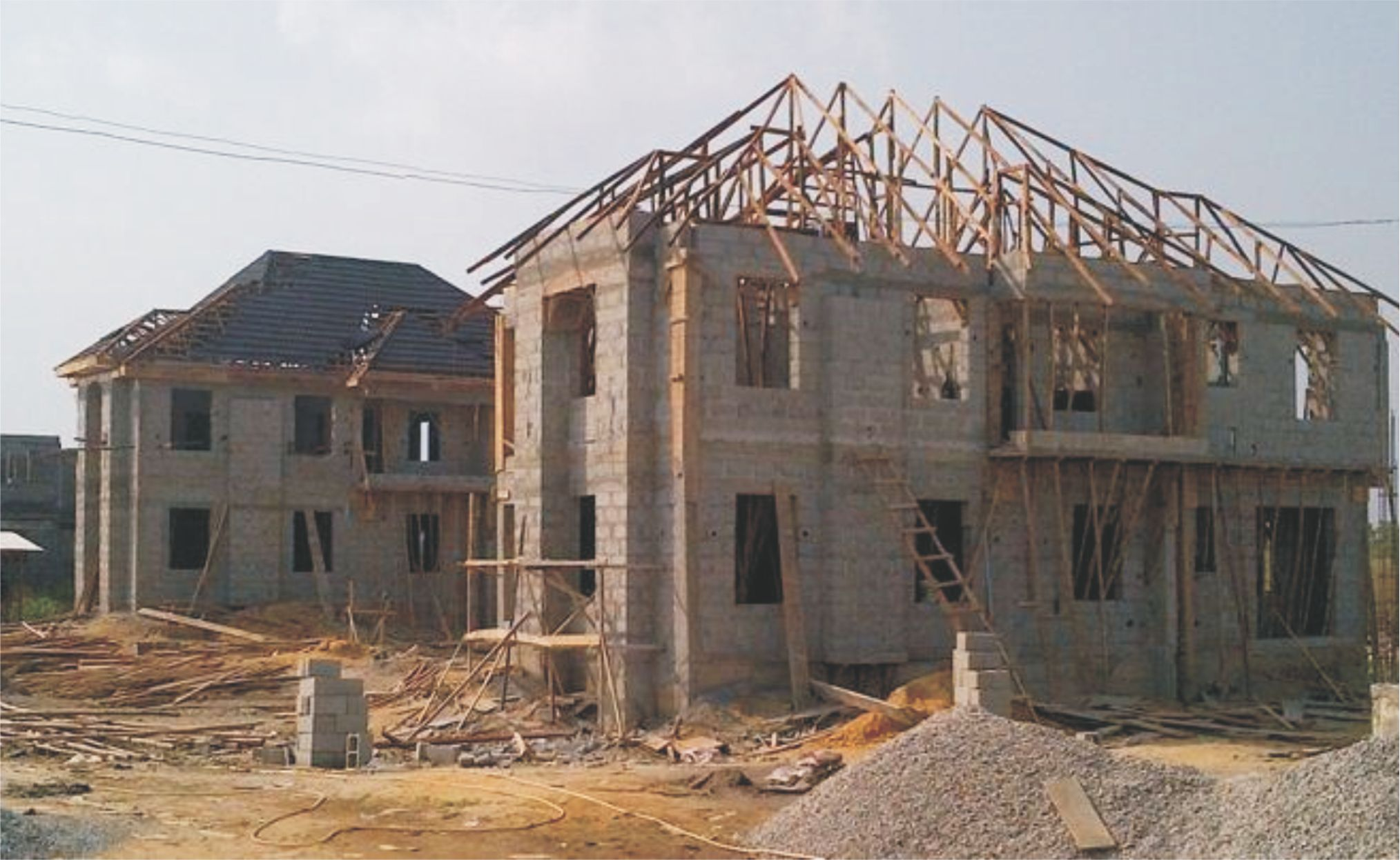 Building design construction for House building contractors