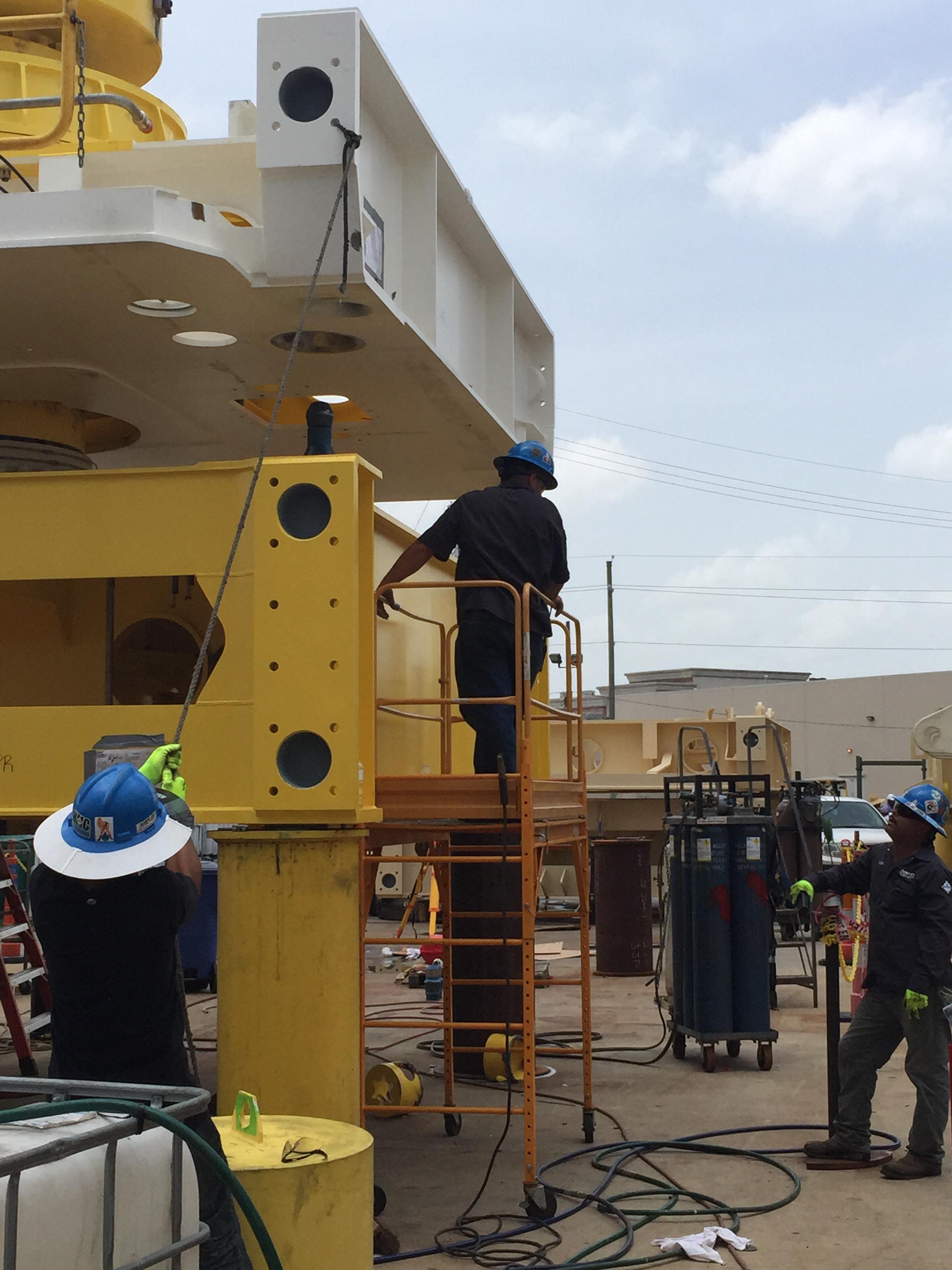 Subsea controls bop