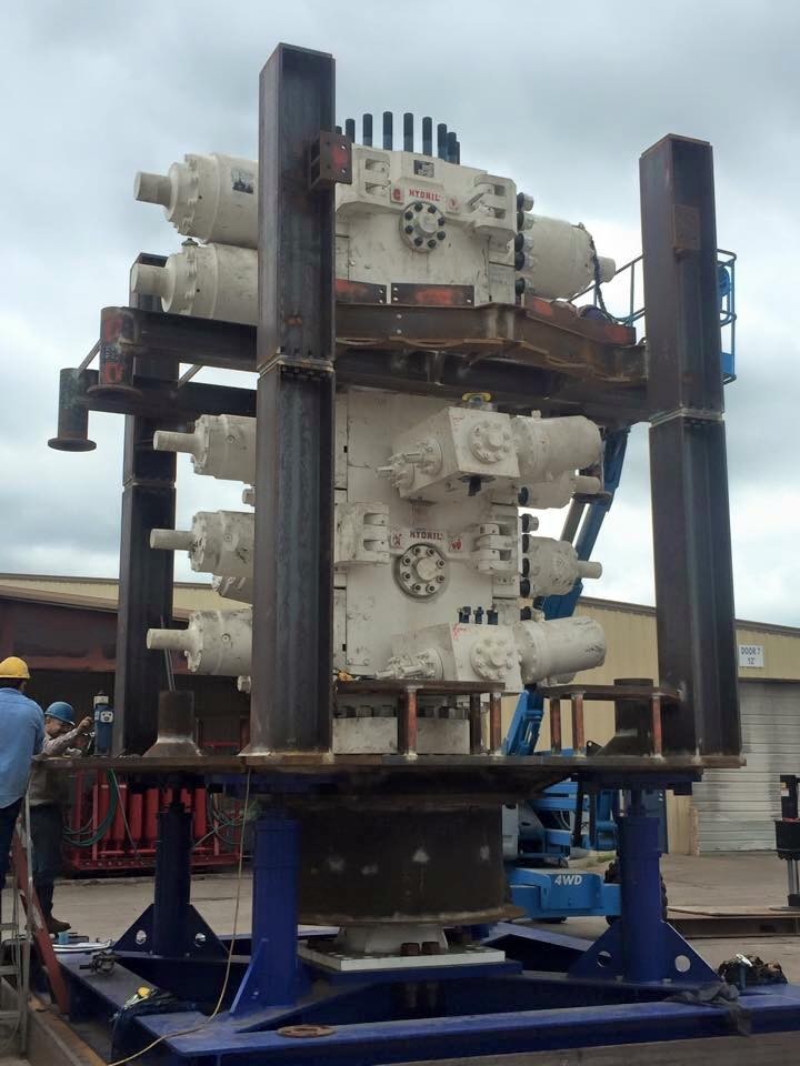 subsea controls Lower BOP Pipe Rams & Upper Double