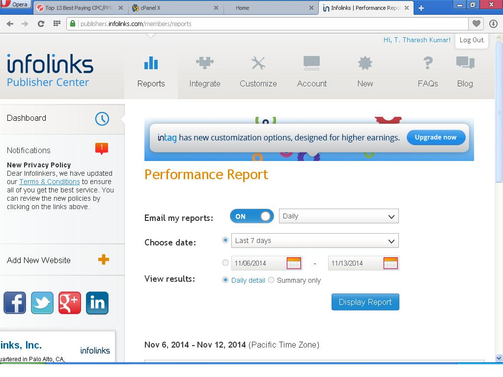 Get Infolink Account Approval very fast