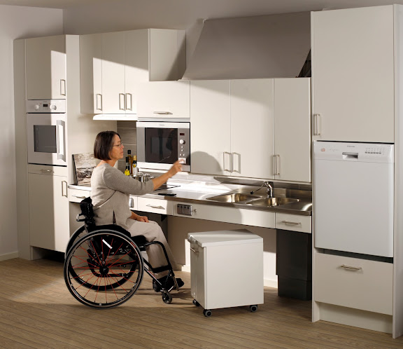 Designing A Kitchen For The Disabled