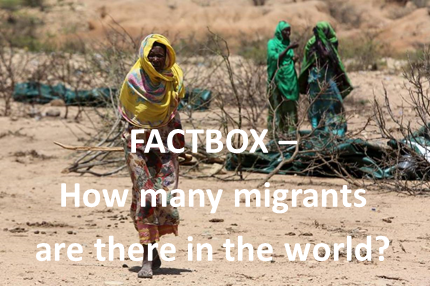 FACTBOX - How many migrants are there in the world?