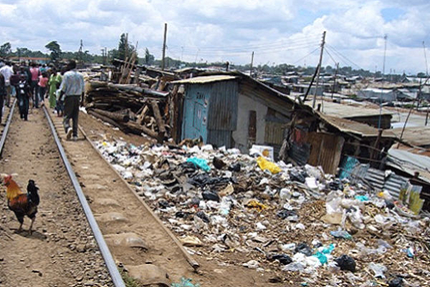 An Innovative Approach To Kibera's 'Flying Toilets'