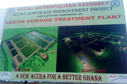 Sewaga Plant bring relief to this Ghanain Village