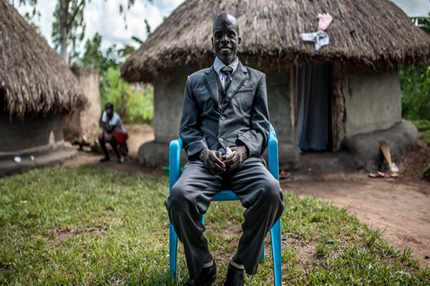 Blind former LRA child soldier, breaks stereotypes