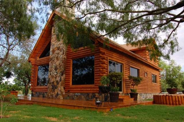 Casas prefabricadas madera imagenes cabanas rusticas for Fachadas de cabanas rusticas