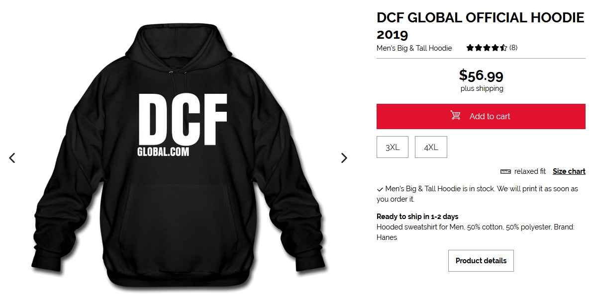 DCF GLOBAL CLOTHING