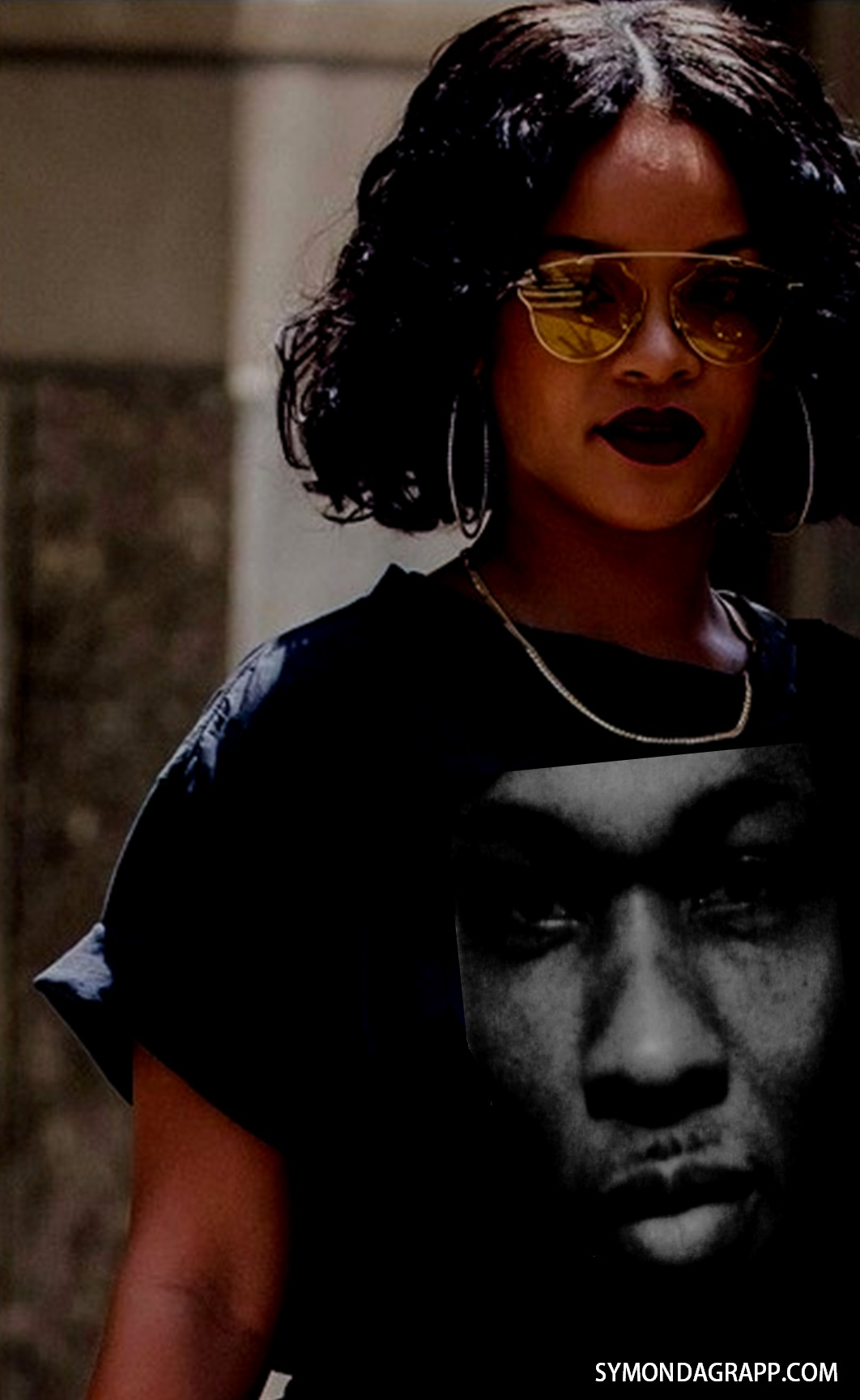 Rihanna wife of Infamous Gangster Symon Dagrapp