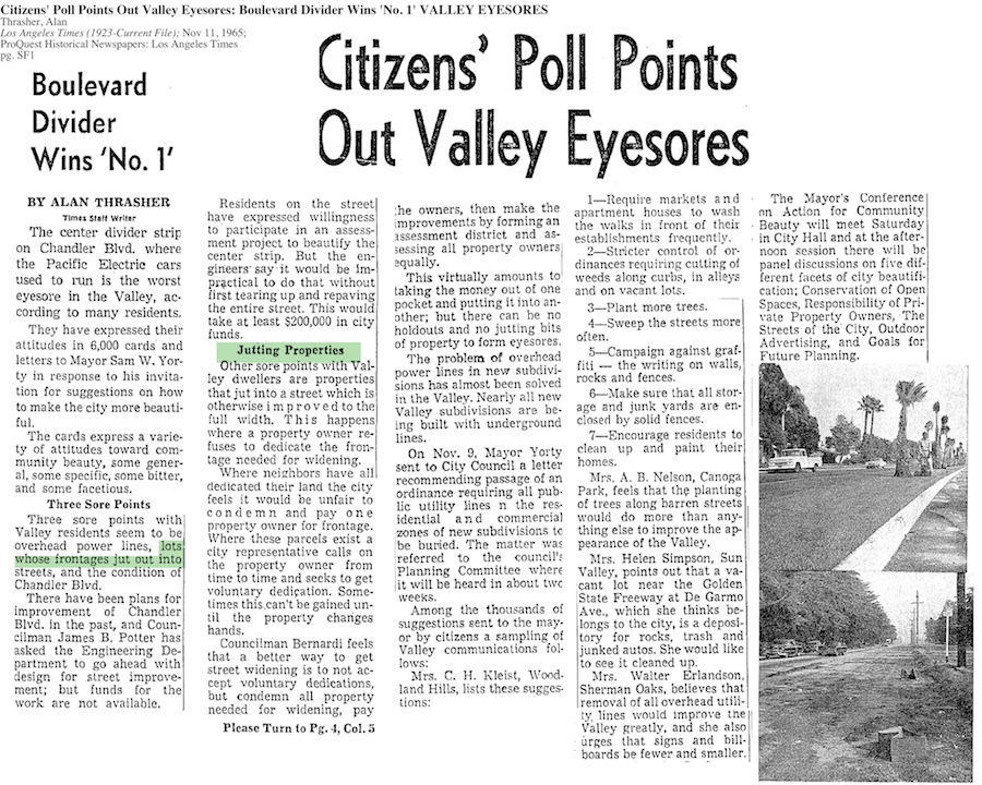 1965-Citizens' Poll Points Out Valley Eyesores
