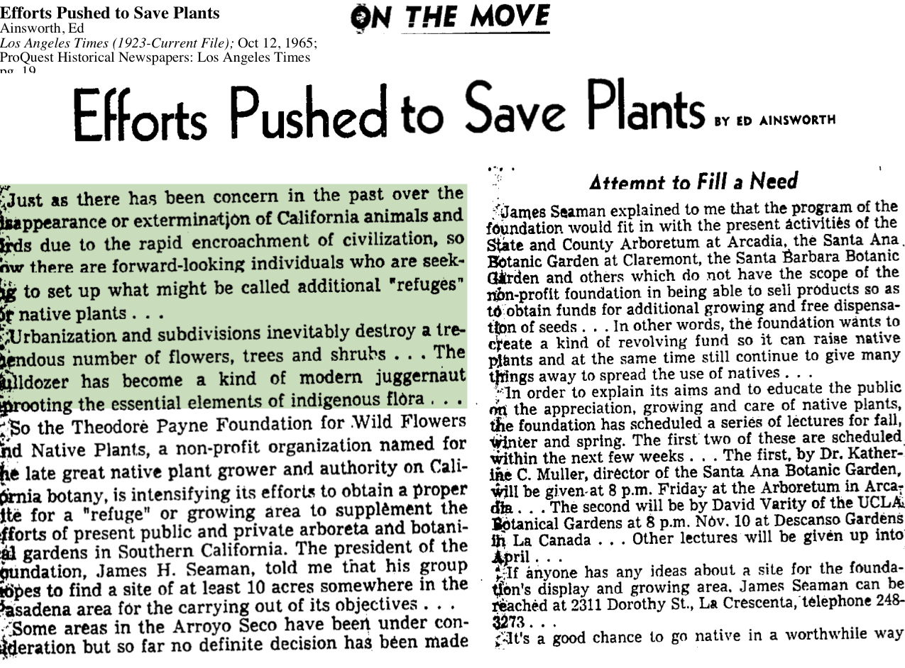 1965-Efforts Pushed To Save Plants