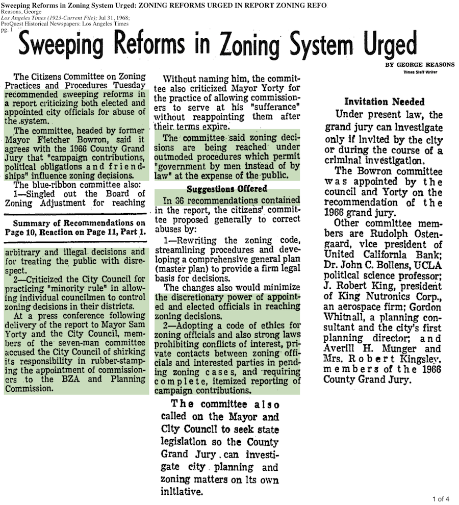 1968-Sweeping Reforms In Zoning