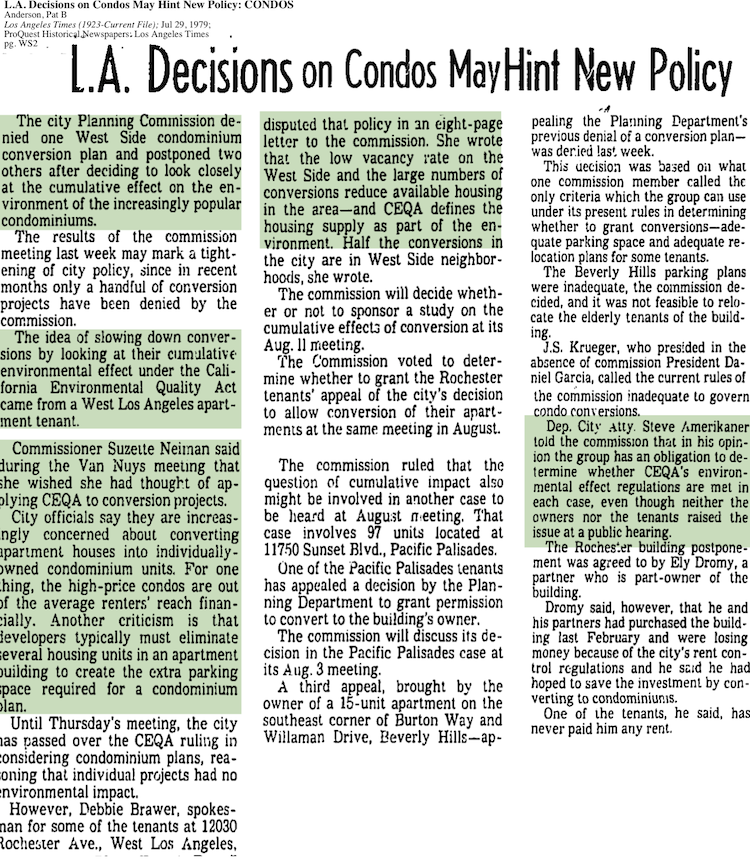 1979-Condos Have Cumulative Effect On Environment