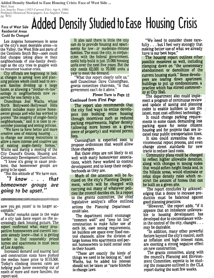 1980-Clamping Down On Demolition Of Current Housing Stock