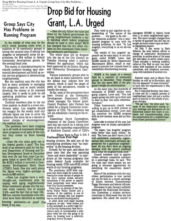 1980-Worst Housing Crisis