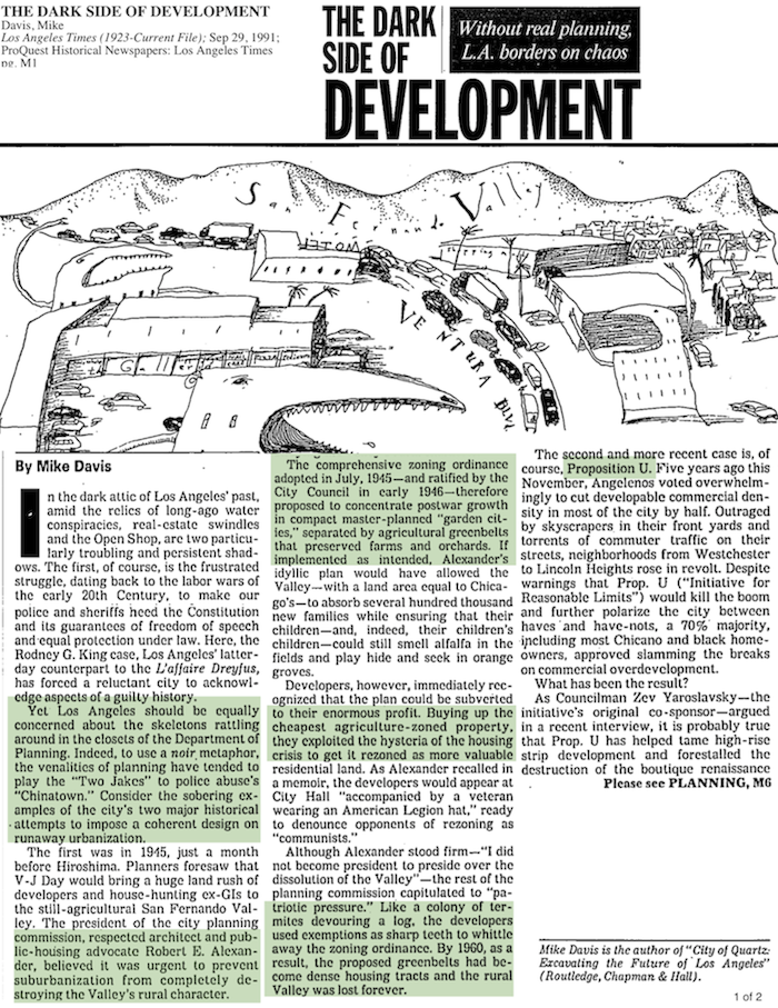 1991-The Dark Side Of Development - Mike Davis