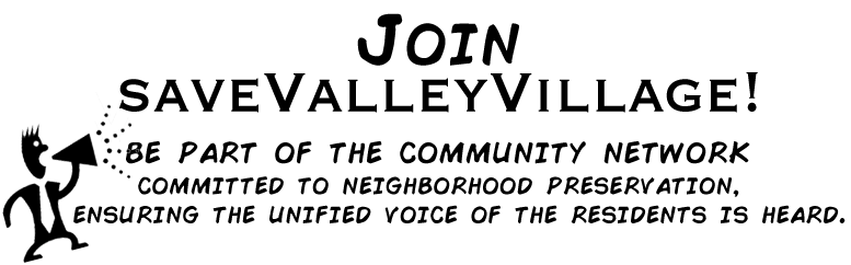 Join saveValleyVillage