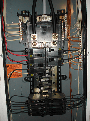 4 pt inspection main electrical panel