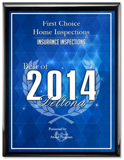 Best Deltona Insurance Inspection Award