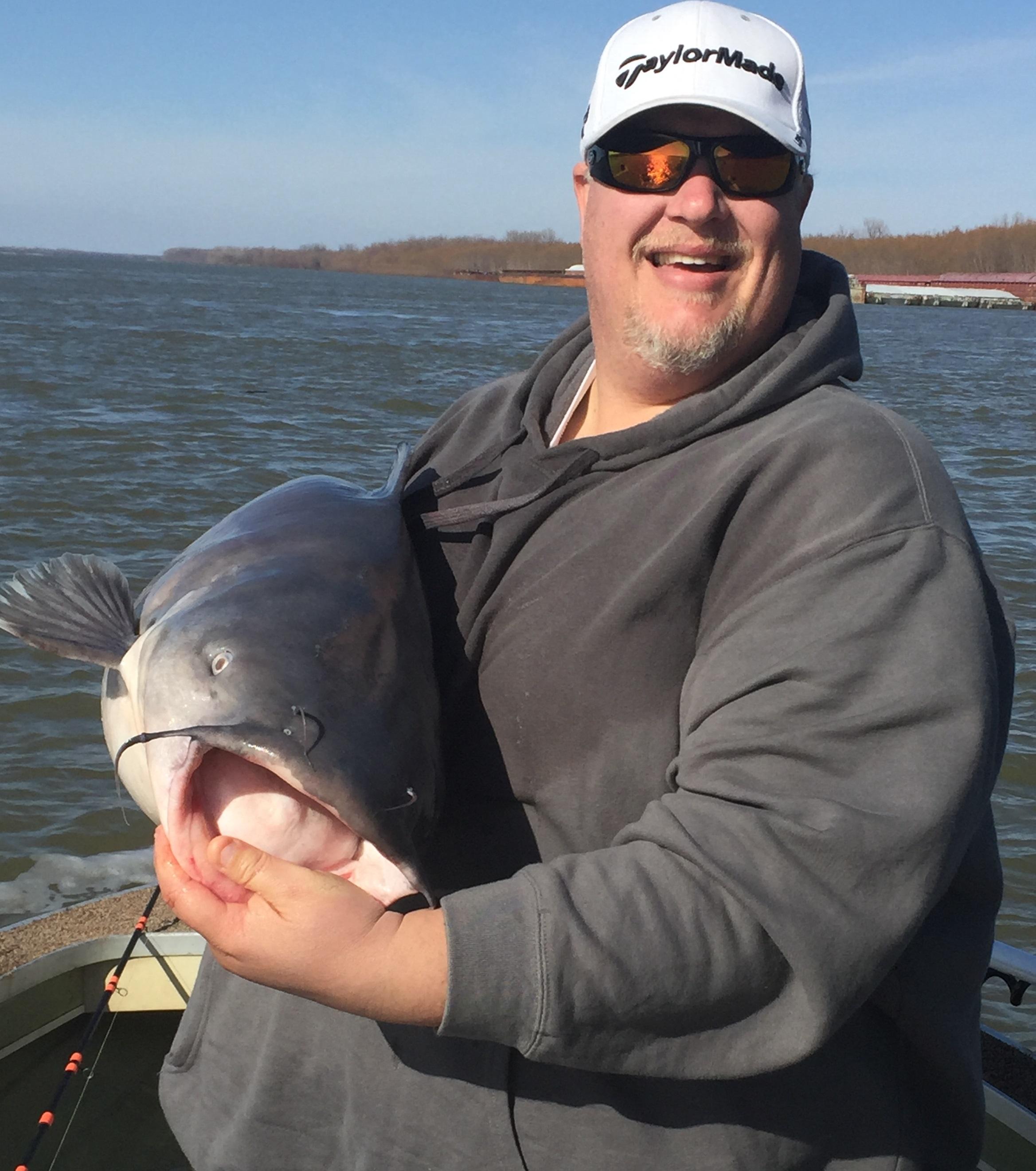 50 lb Mississippi River Blue Cat