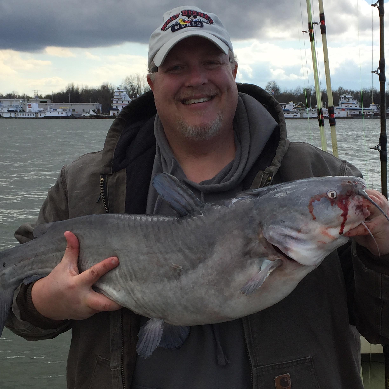 22 lb TN river Blue Catfish