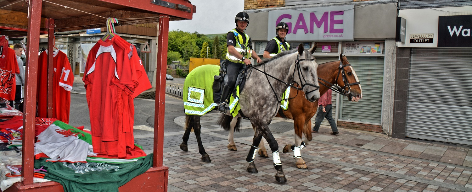 Police in Wales, Welsh Police, Police, Horses, Wales,