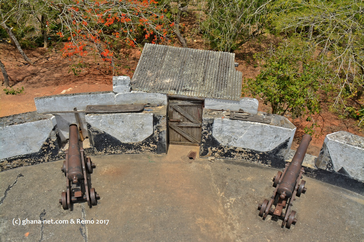 Cape Coast, Fort William, British Fort